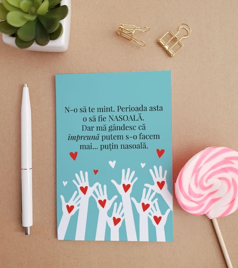 Felicitare personalizata cu mesaj optimist - Sucky_catbox 1