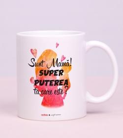 Cadou pentru mama - Cana  - Super Powers_catbox 1