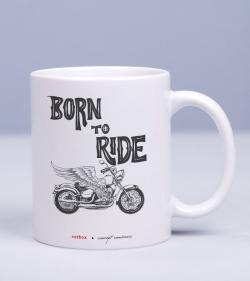 Cadou pentru motociclisti - Cana personalizata - Wild and Free_catbox_1