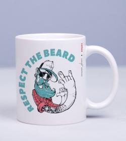Cadou pentru prieteni - Cana personalizata - Respect the Beard_catbox_1