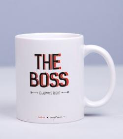 Cadou pentru sef - Cana personalizata - The Boss_catbox_1