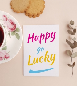 Cadouri pentru prieteni - Felicitare cu mesaj optimist - Fara griji_catobox 1