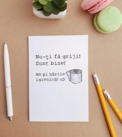 Felicitare personalizata cu mesaj de linistire - Don't Worry_catbox 1