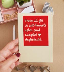 Cadouri pentru iubit - Felicitare cu mesaj amuzant - Naughty_catbox 1