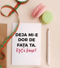Felicitare personalizata cu mesaj de grija - Miss your face_catbox 1
