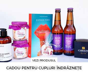 Cadouri de cuplu - Pachet cadou pentru cupluri indraznete - Inteligenta erotica - cadou special pentru el si ea