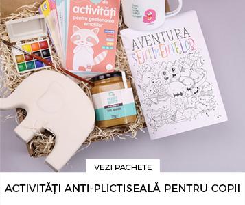 Cadouri pentru cei mici - Pachet cadou pentru copii - Activitati pentru copii anti-plictiseala