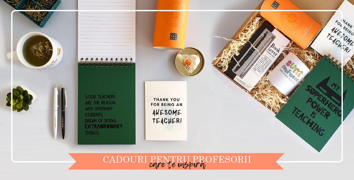 Pachete cadou pentru profesori catbox.ro