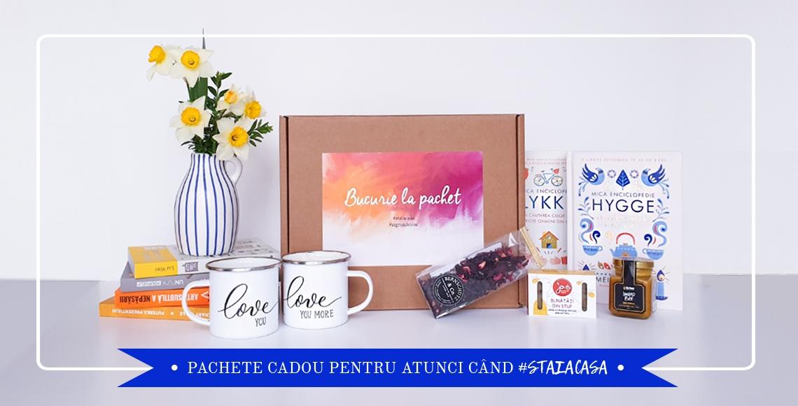 Pachete cadou cu carte catbox.ro
