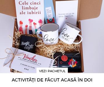 Cadouri pentru cuplu - Pachet cadou - Activitati de facut in doi